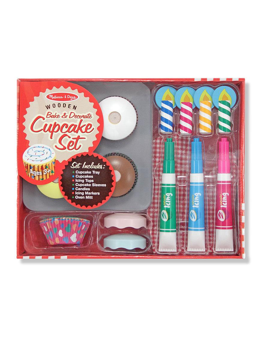 Melissa & Doug Bake & Decorate Cupcake Set -  - Melissa & Doug