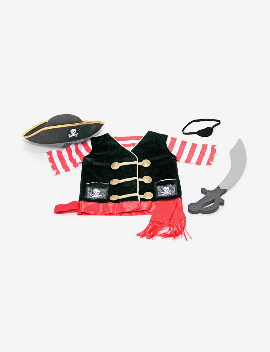 Melissa amp Dougreg Pirate Role Play Costume Set -  - Melissa & Doug