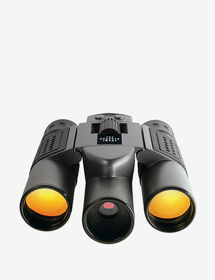Sharper Image 10x25 Digital Camera Binoculars - - Sharper Image