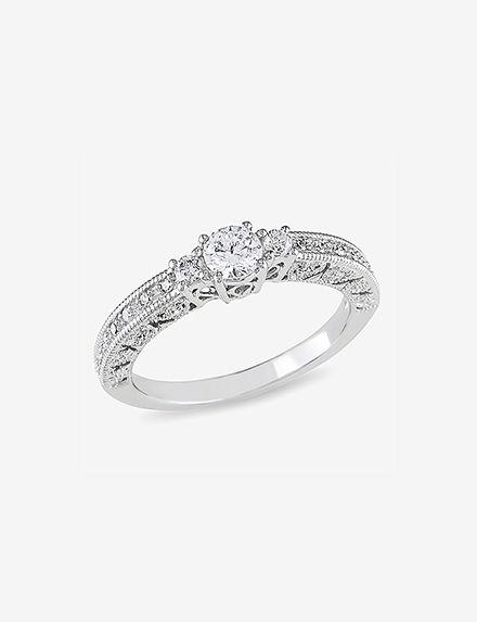Concerto Diamonds White Gold Rings Fine Jewelry