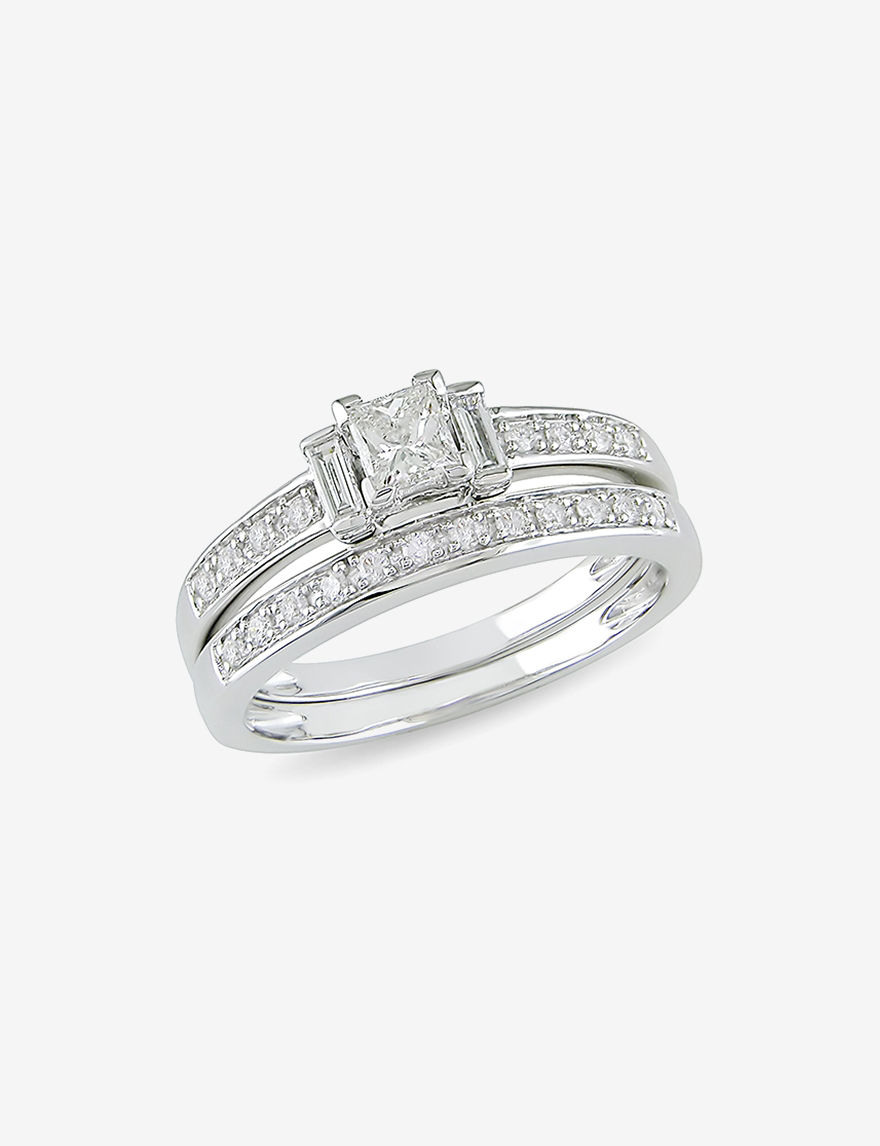 Amour Collection White Gold Rings Fine Jewelry