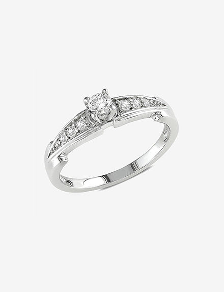 Amour Collection Silver Rings Fine Jewelry