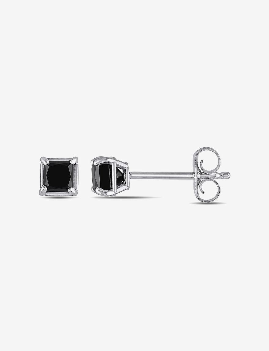 Moonlight Diamonds  Studs Earrings Fine Jewelry
