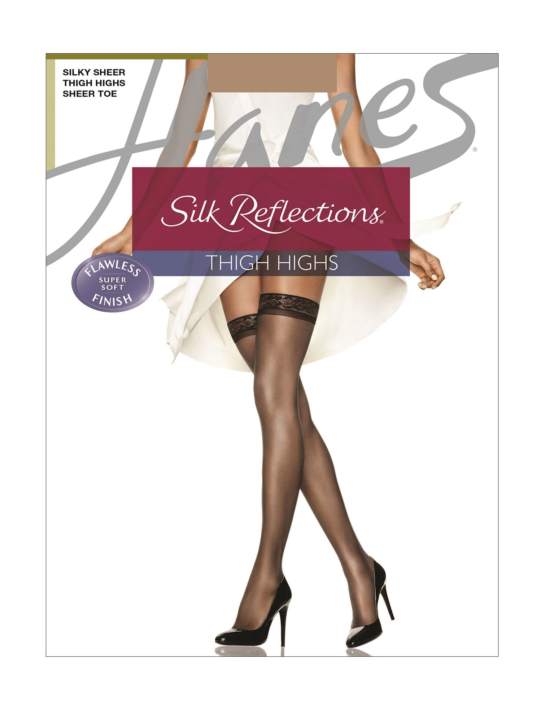 Hanes H - Barely There Tights & Hosiery