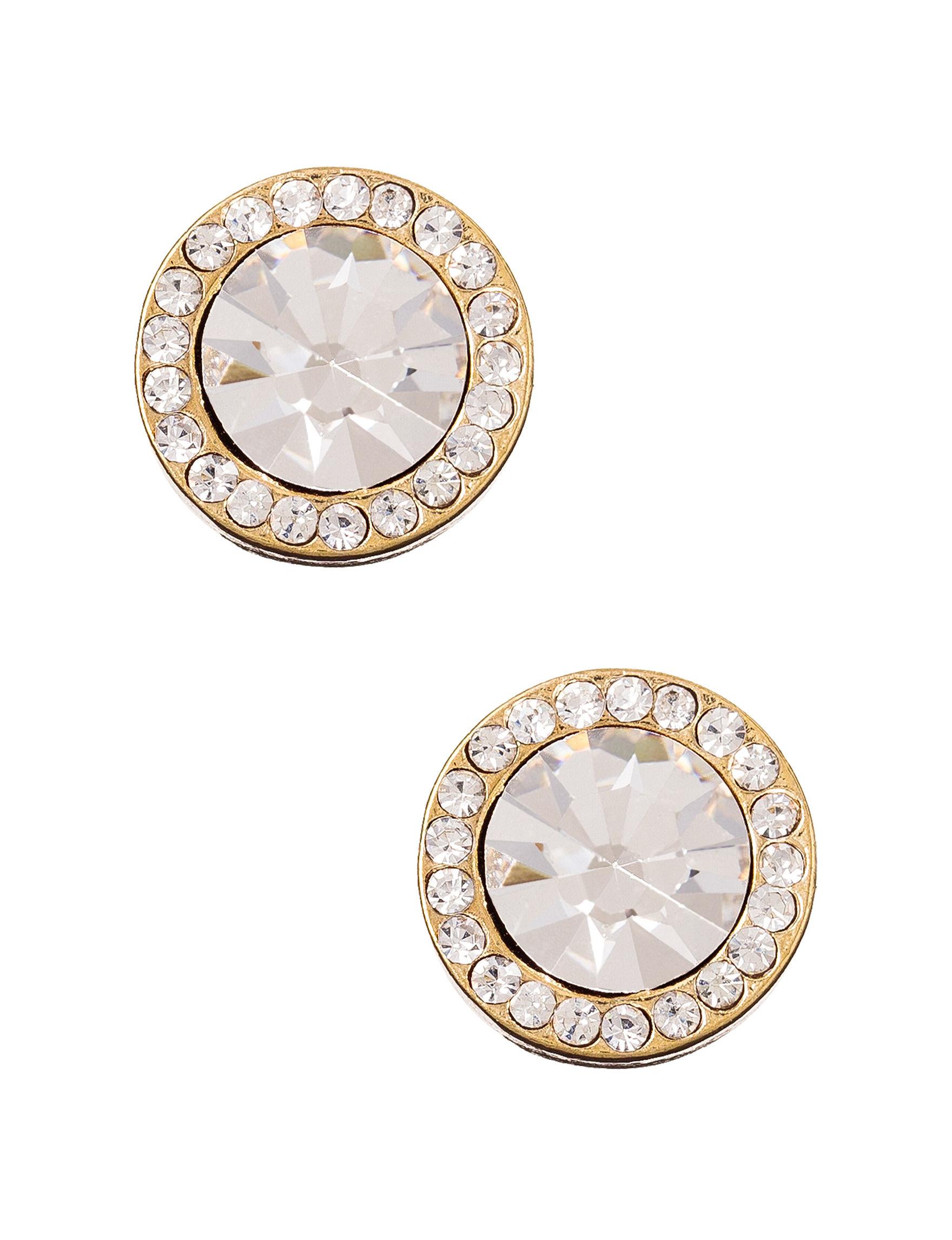 Signature Studio Gold Studs Earrings Fashion Jewelry