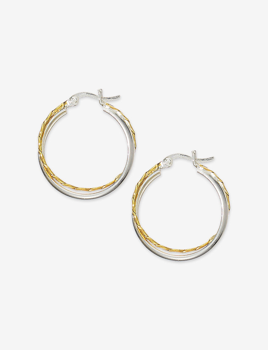 Danecraft  Hoops Earrings Fine Jewelry
