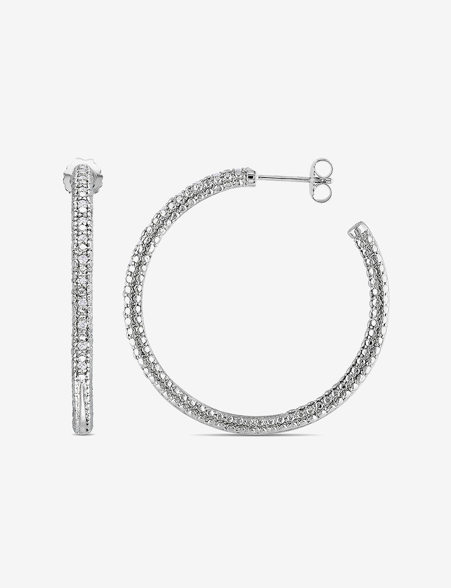 Amour Collection  Hoops Earrings Fine Jewelry