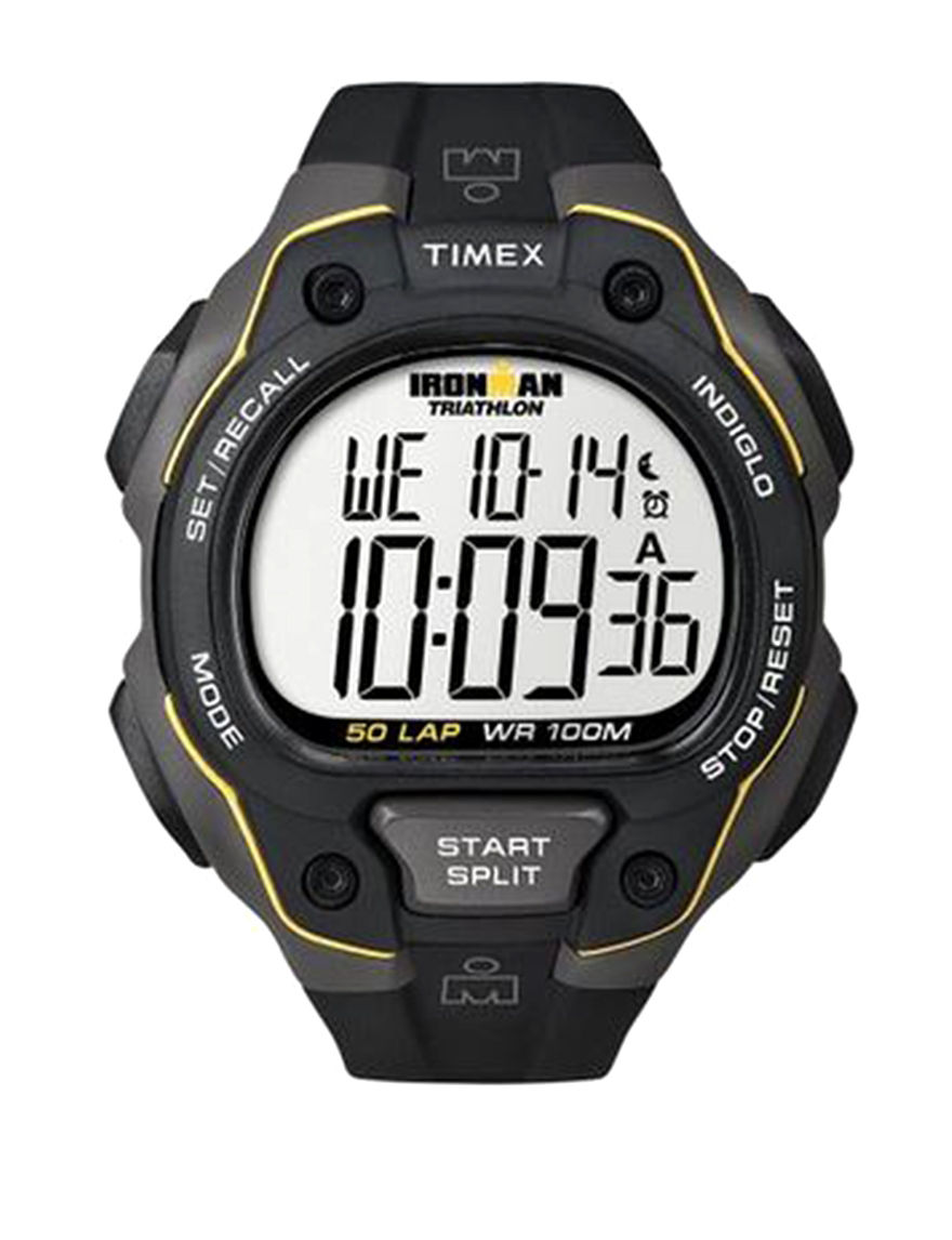 Timex Black Sport Watches