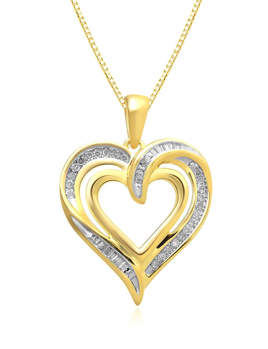 Renaissance Silver / Gold Necklaces & Pendants Fine Jewelry
