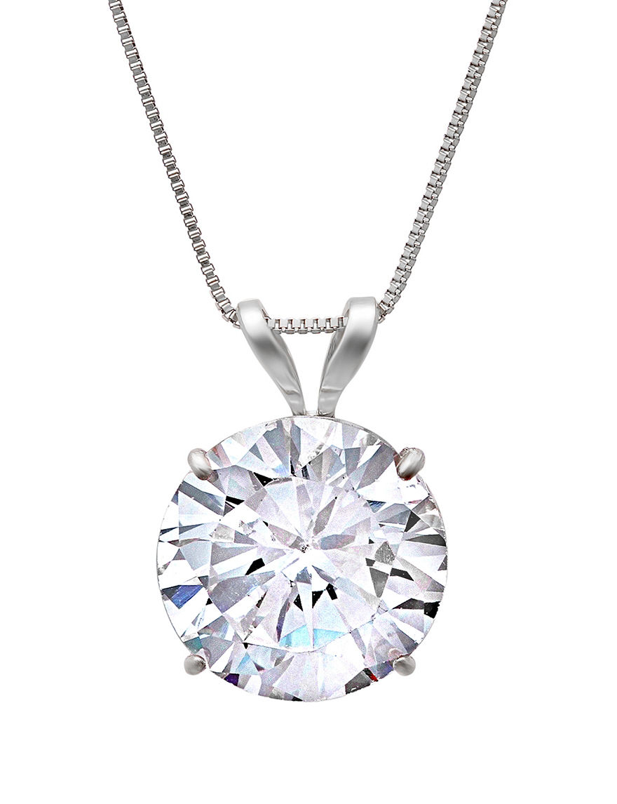 Max Color White Gold Necklaces & Pendants Fine Jewelry