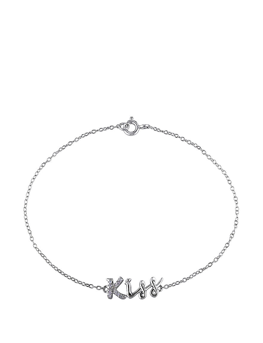 Amour Collection Silver Bracelets Fine Jewelry