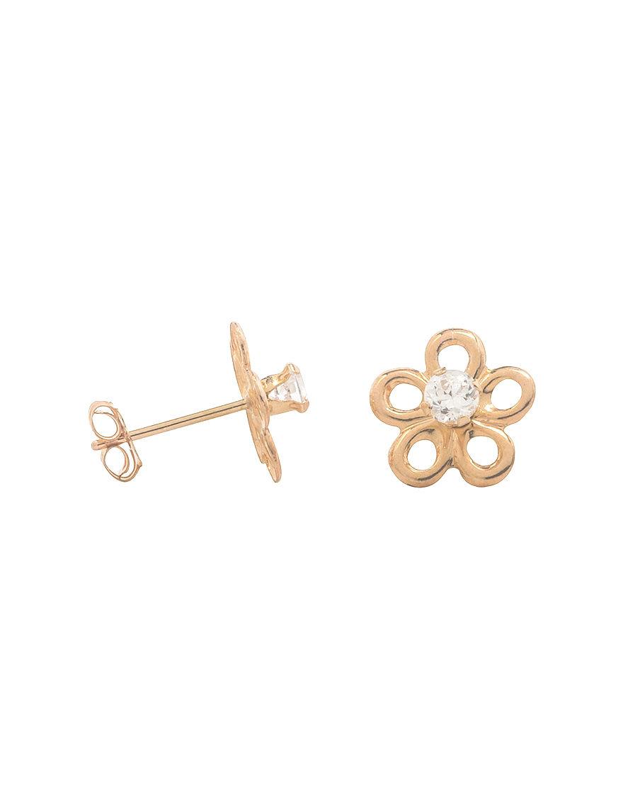 K'Dorable Gold Studs Fine Jewelry