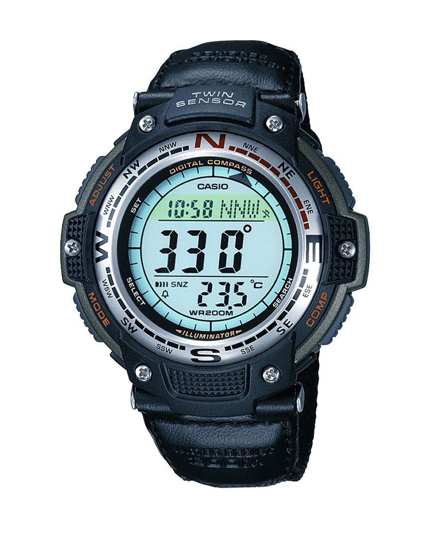 Casio Green Sport Watches