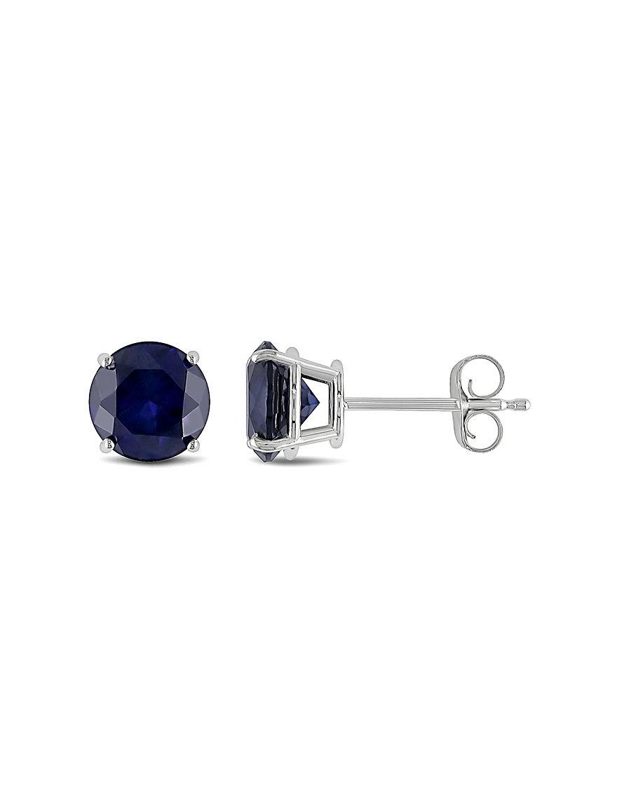 Sophia B Silver Studs Earrings Fine Jewelry