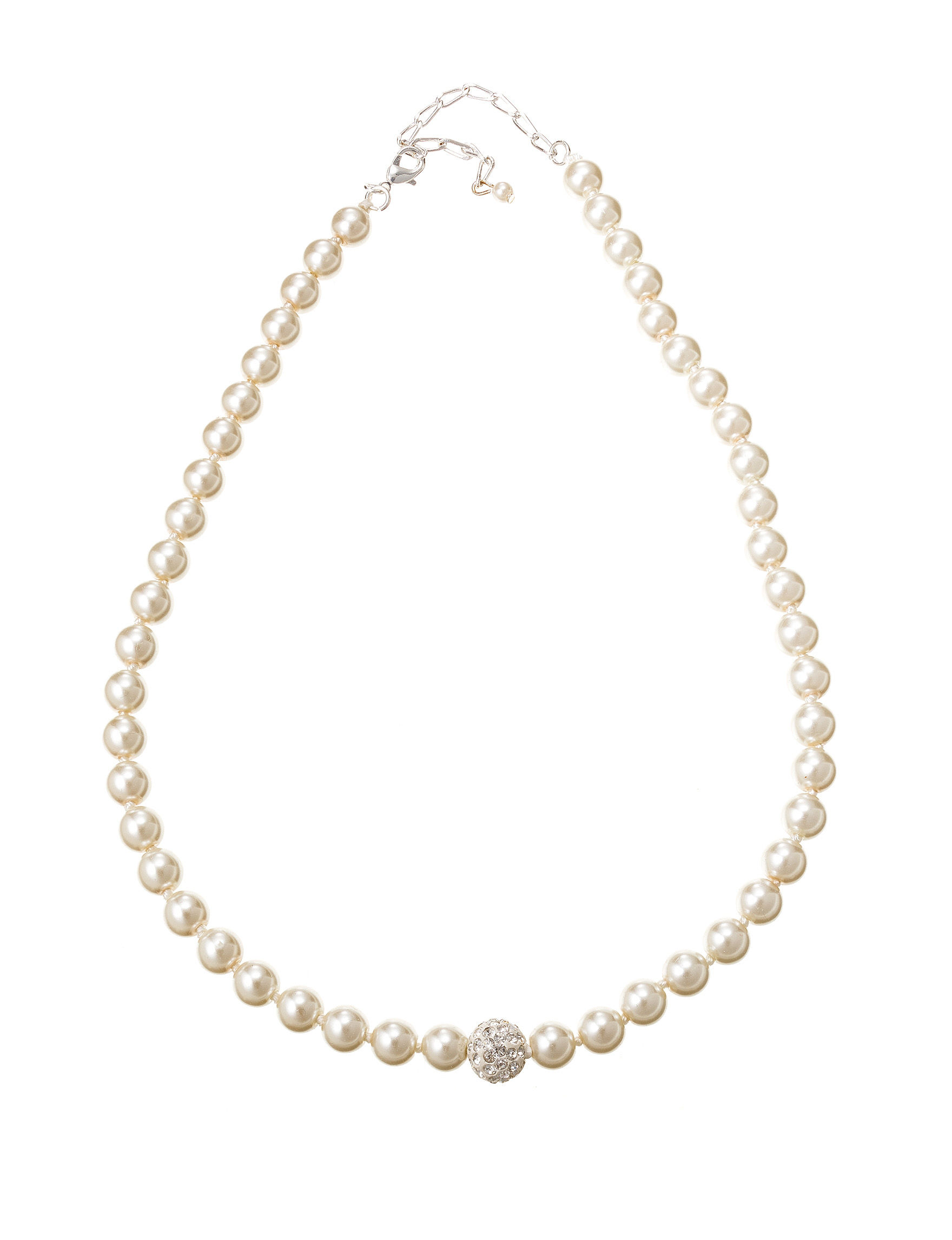 Via Roma Pearl Necklaces & Pendants Fashion Jewelry