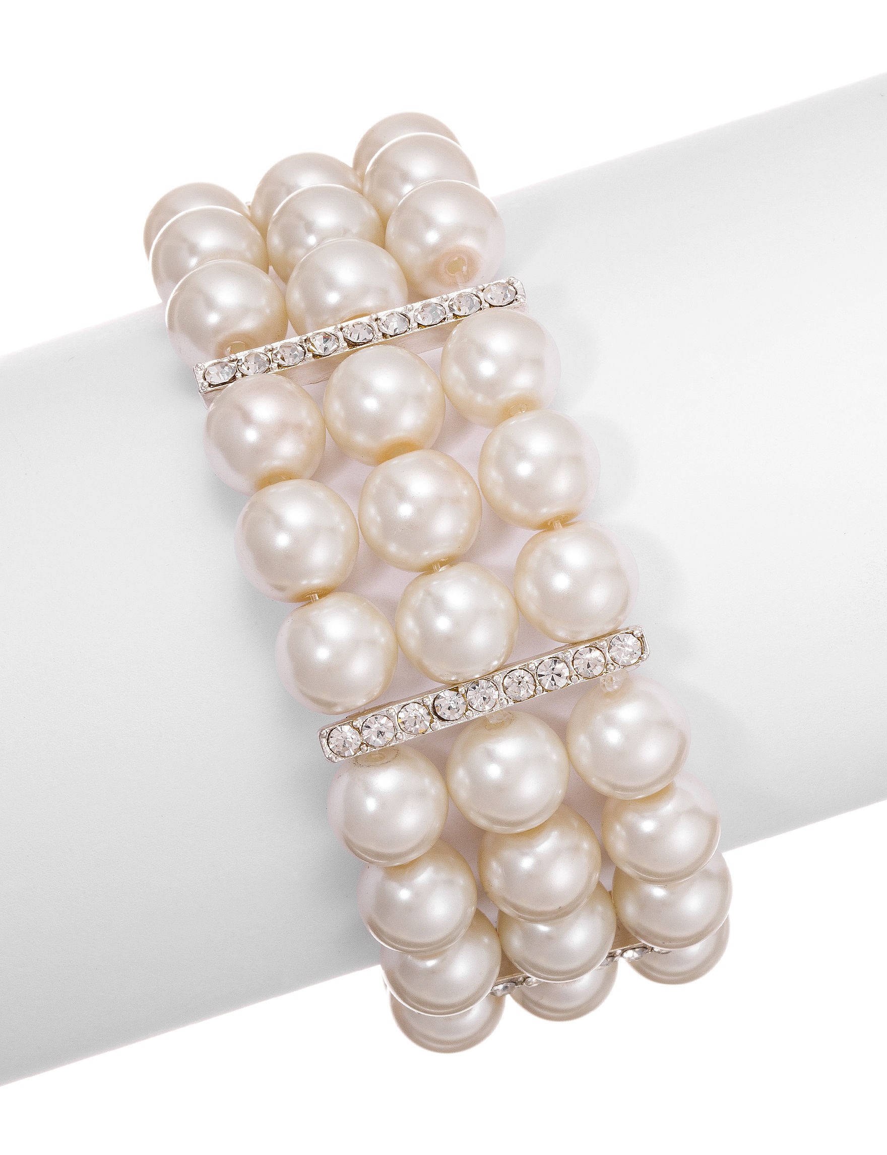 Via Roma Pearl Bracelets Fashion Jewelry