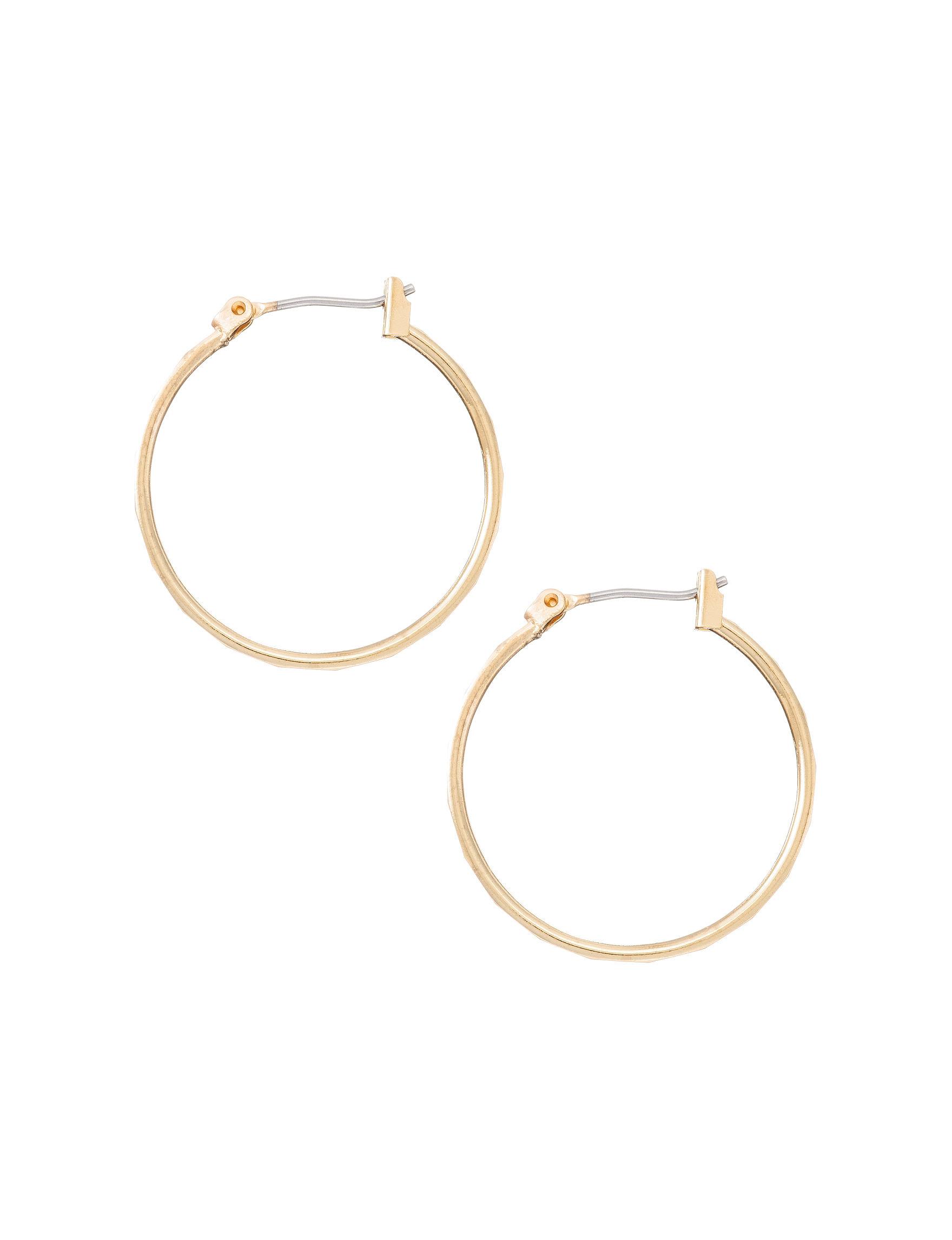 Napier  Hoops Earrings Fashion Jewelry