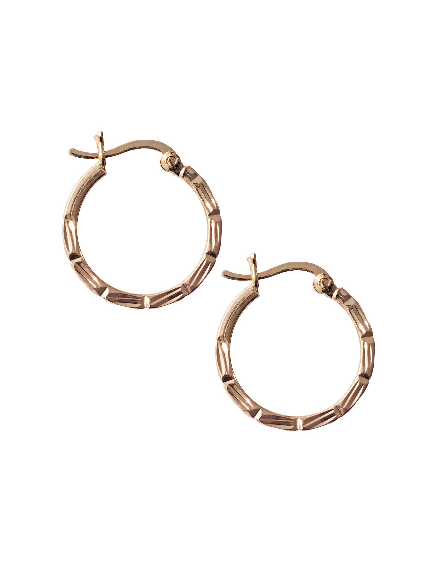Danecraft  Hoops Earrings Fine Jewelry