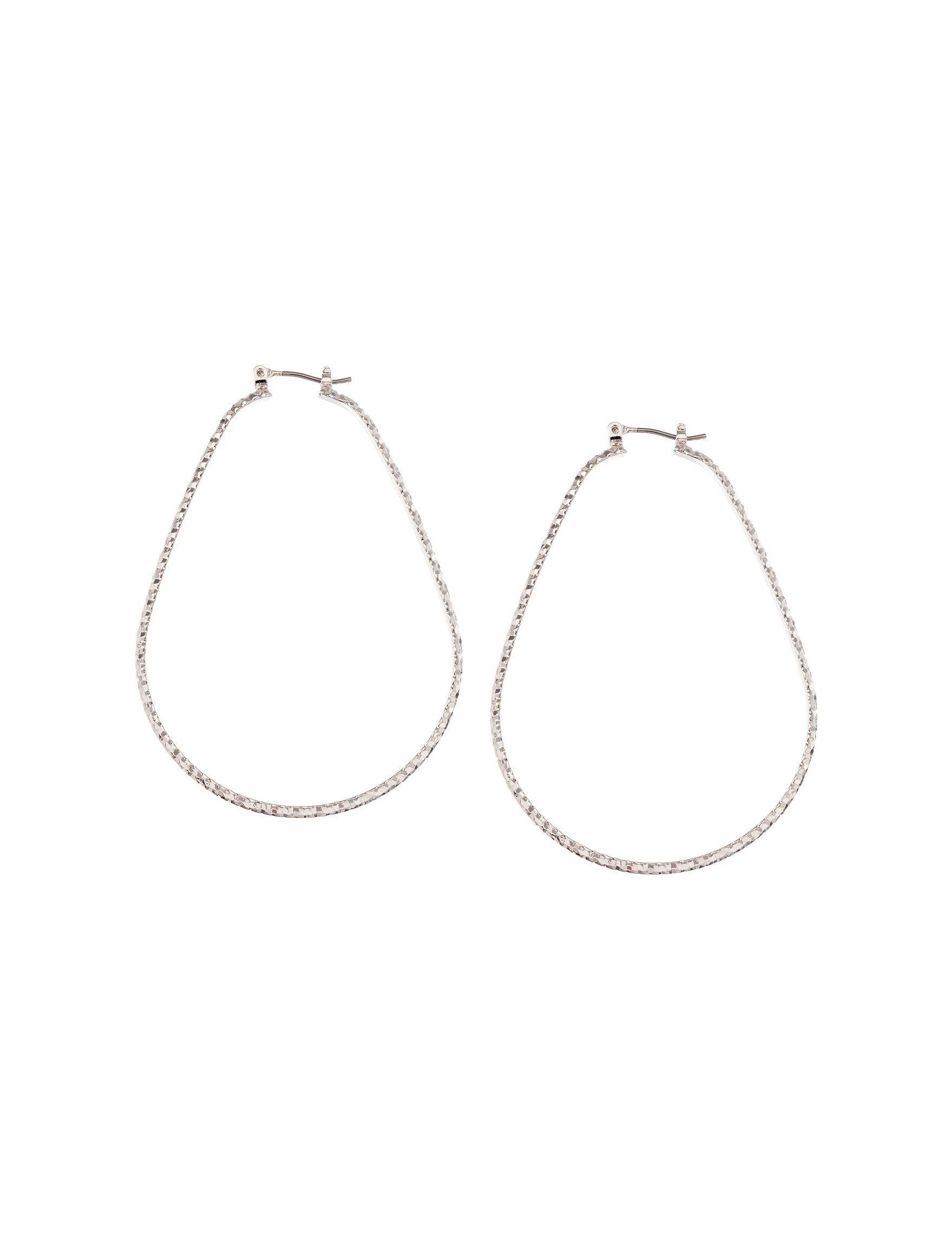 Hannah Silver Earrings Fashion Jewelry