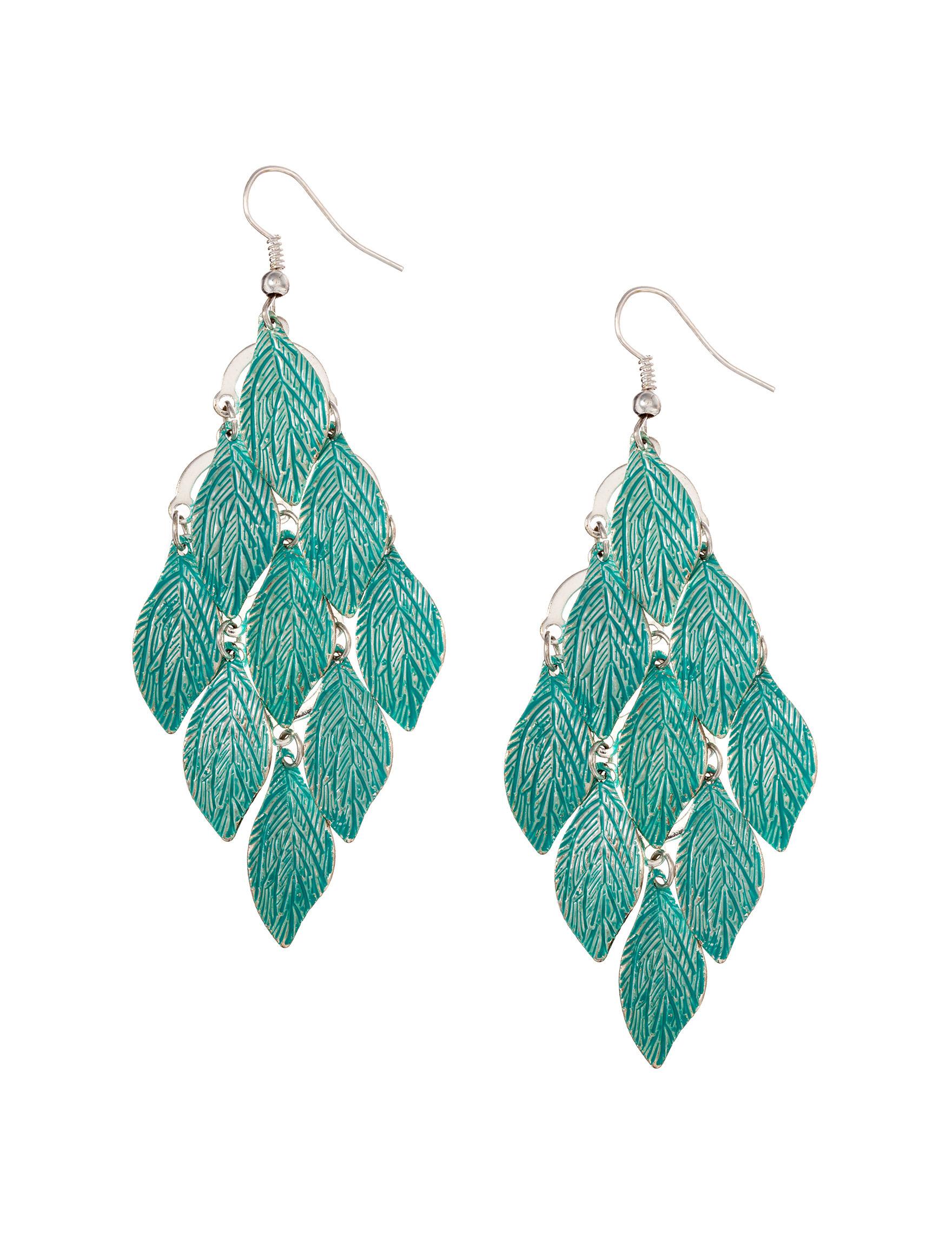 Hannah Turquoise Earrings Fashion Jewelry