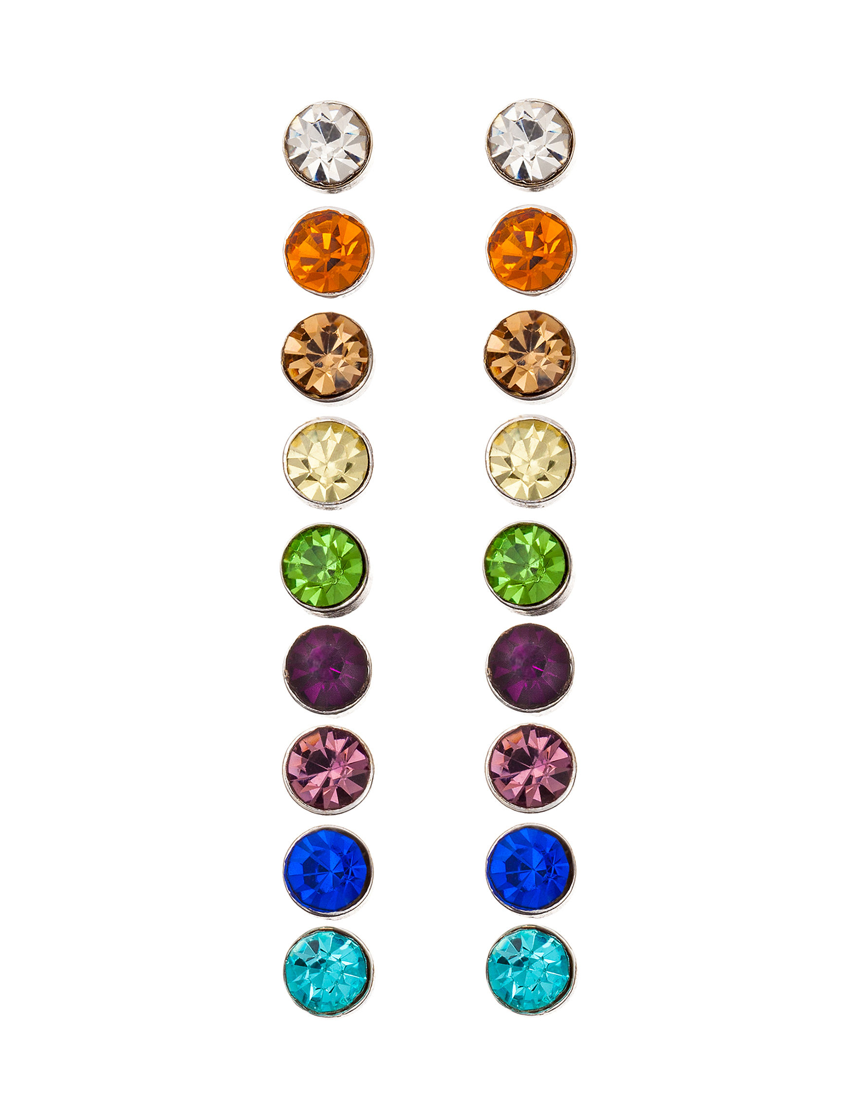 Hannah Multi Studs Earrings Fashion Jewelry