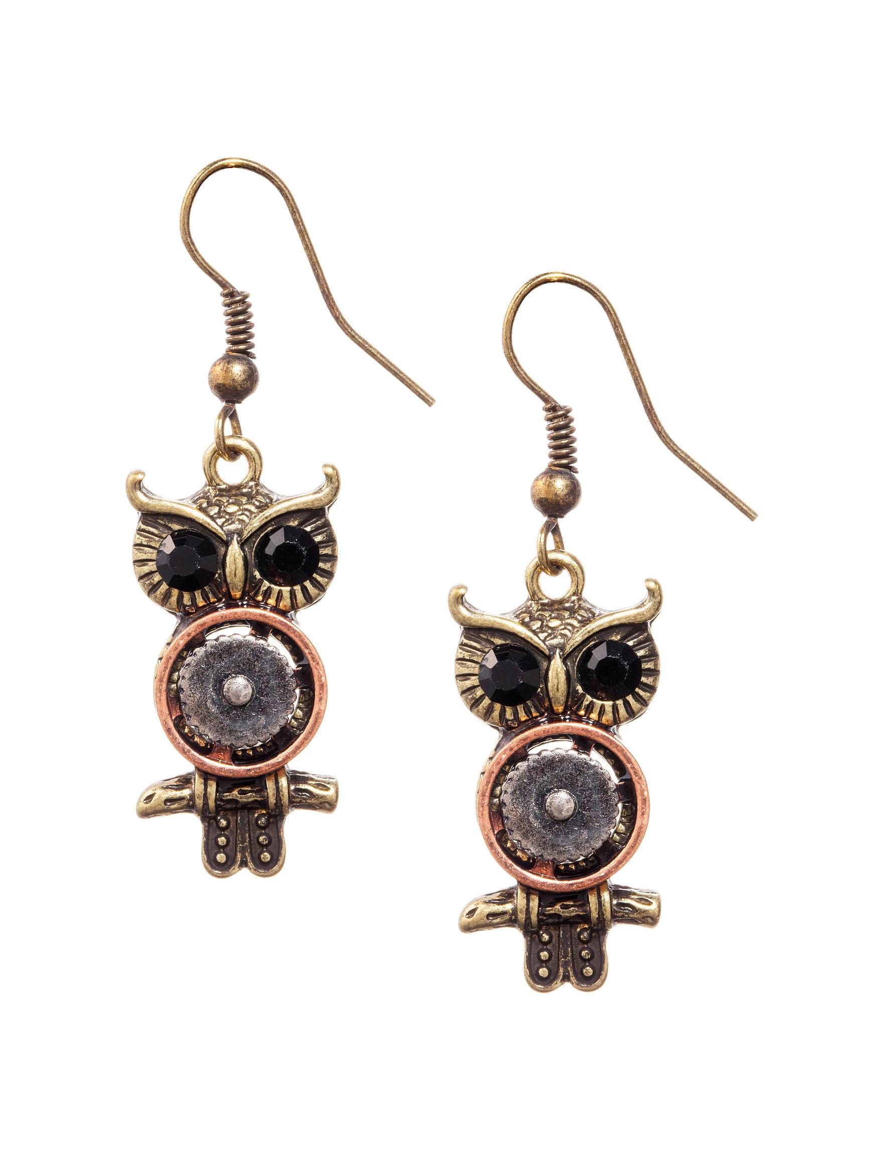 Hannah Bronze Earrings Fashion Jewelry