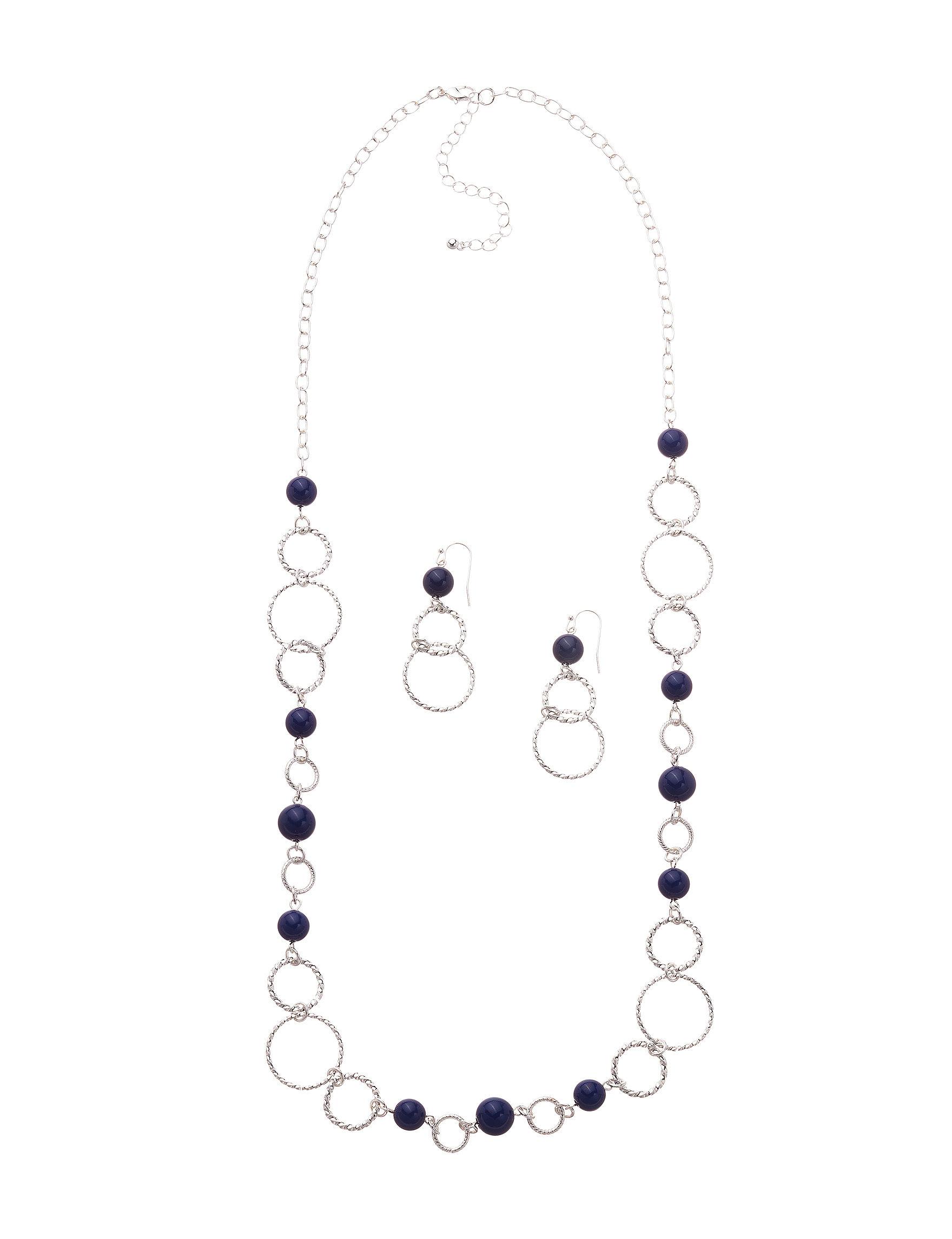 Hannah Navy Jewelry Sets Fashion Jewelry