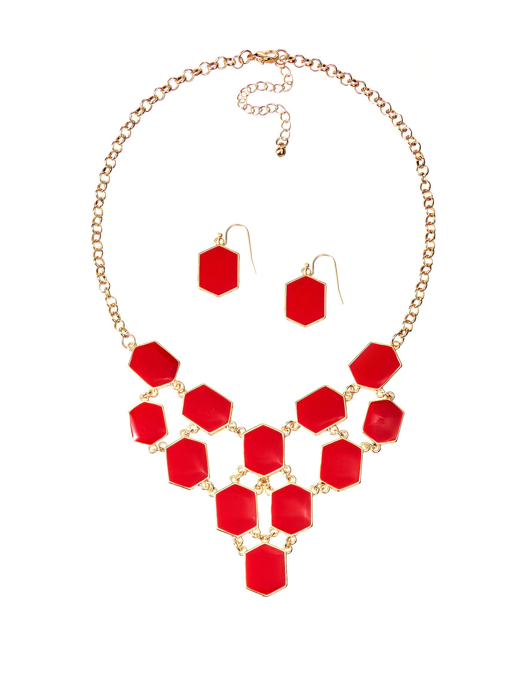 Hannah Red Jewelry Sets Fashion Jewelry