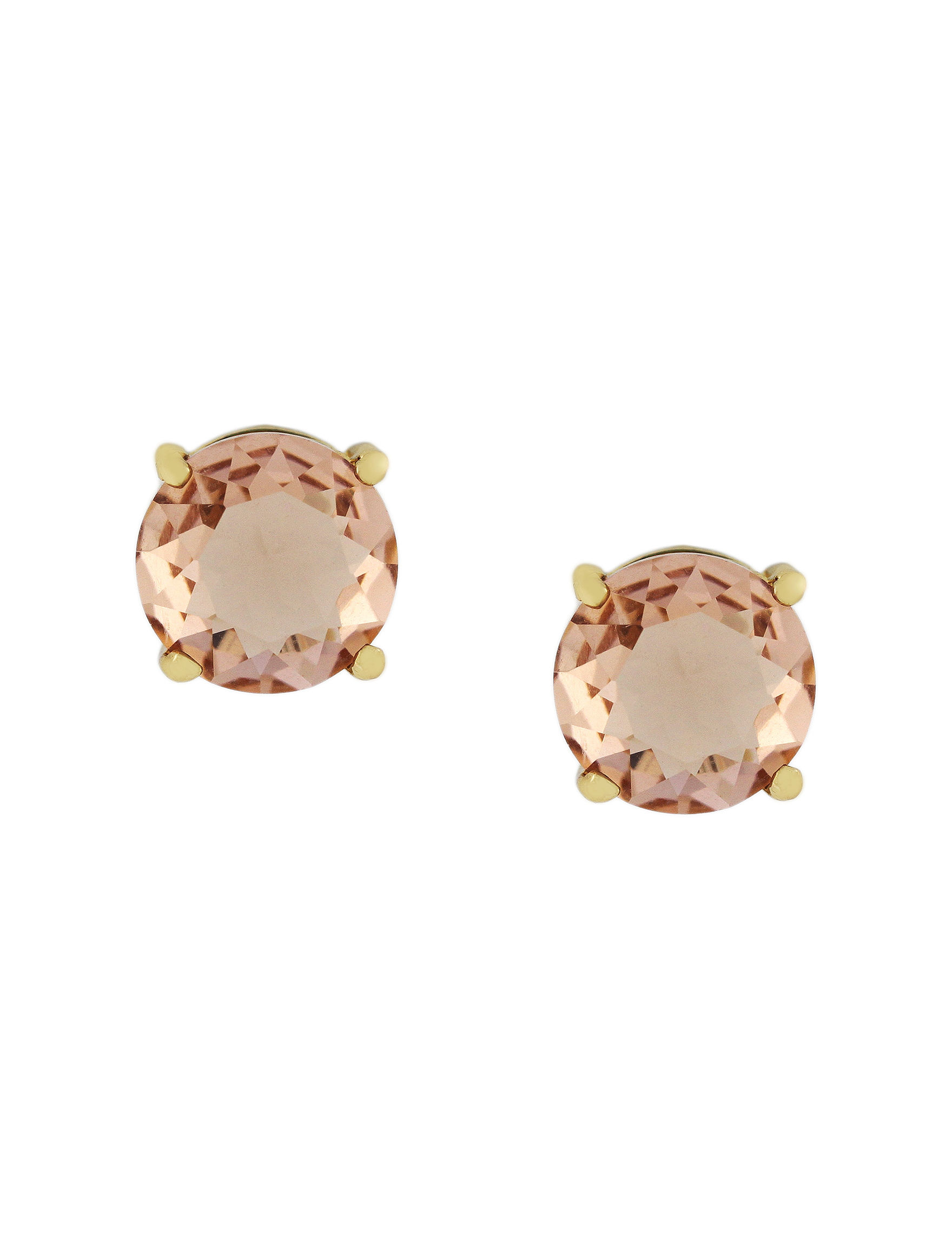Jessica Simpson Gold Studs Earrings Fashion Jewelry