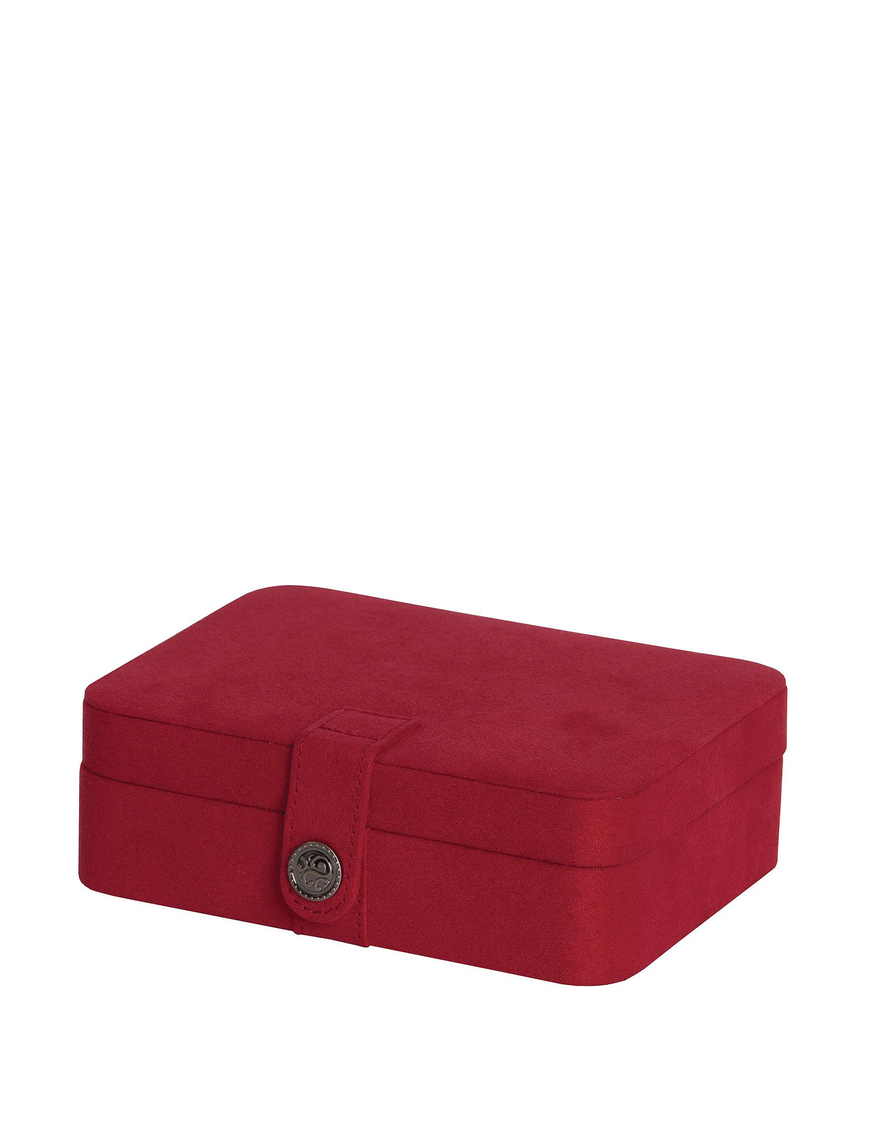 Mele & Co. Red Jewelry Storage & Organization