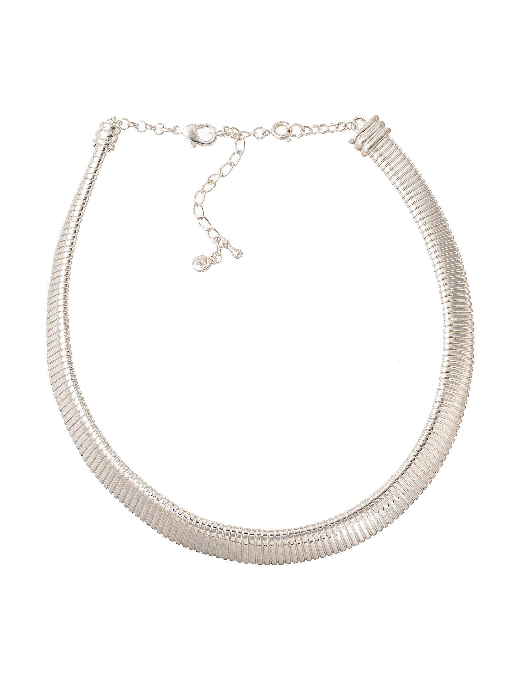 Roman White / Silver Necklaces & Pendants Fashion Jewelry
