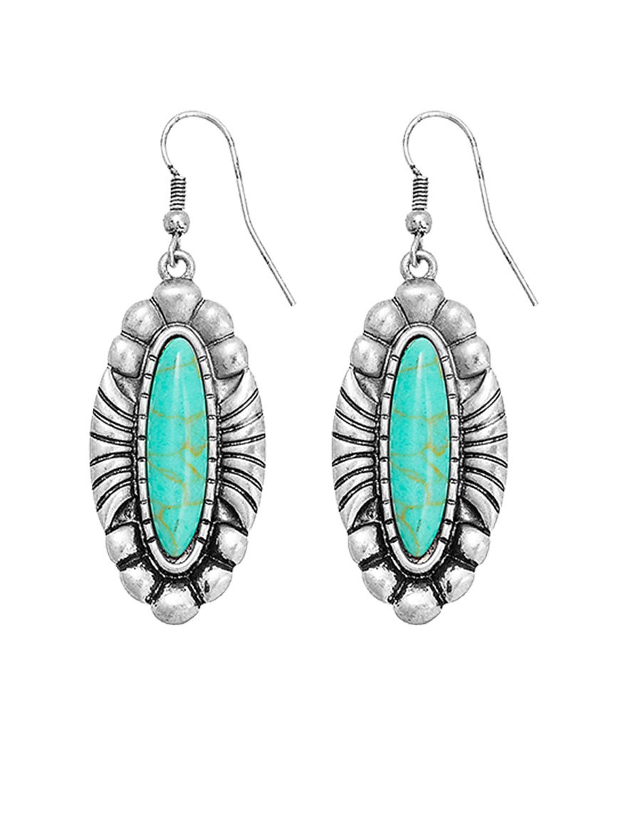 Hannah Turquoise Earrings Fashion Jewelry
