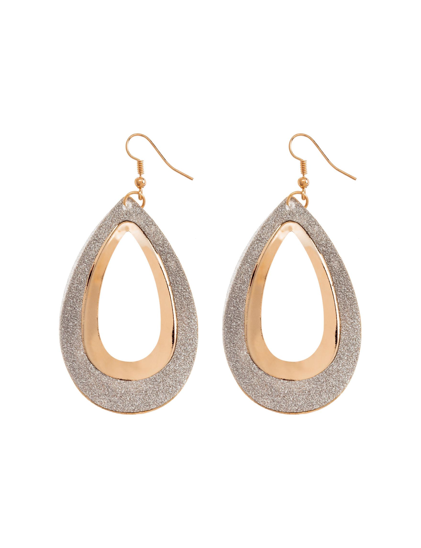 Hannah Gold Drops Earrings Fashion Jewelry