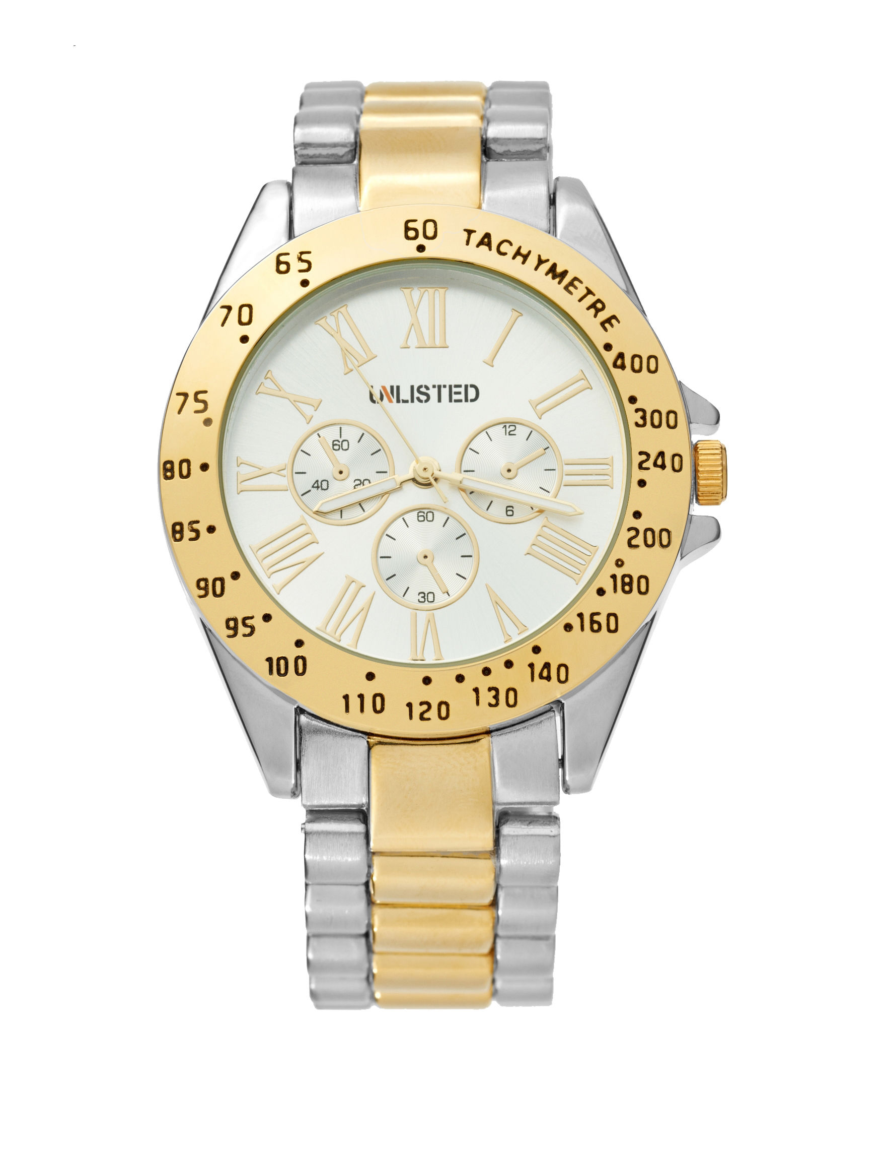 Unlisted Silver / Gold Fashion Watches