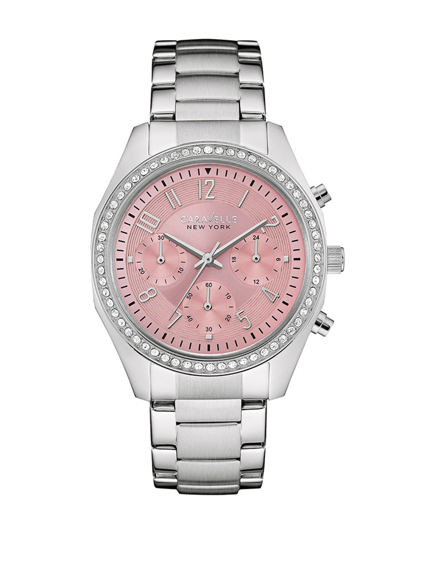 Caravelle Silver Fashion Watches