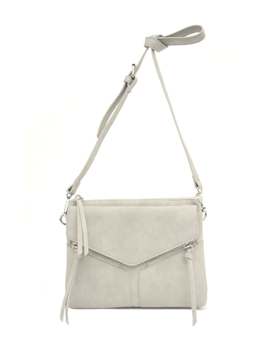 4b27b2168659 Violet Ray Leanna Crossbody Bag. Violet Ray Grey