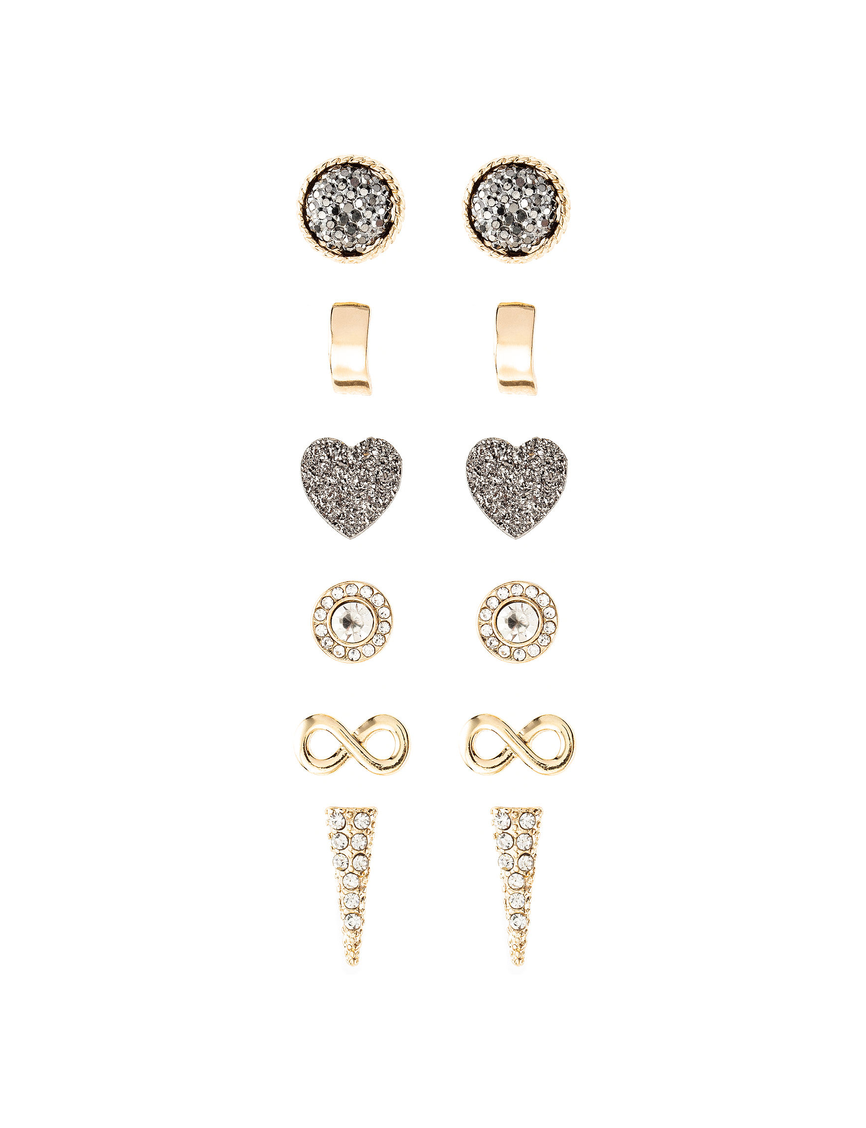 G by Guess Gold Studs Rings Fashion Jewelry