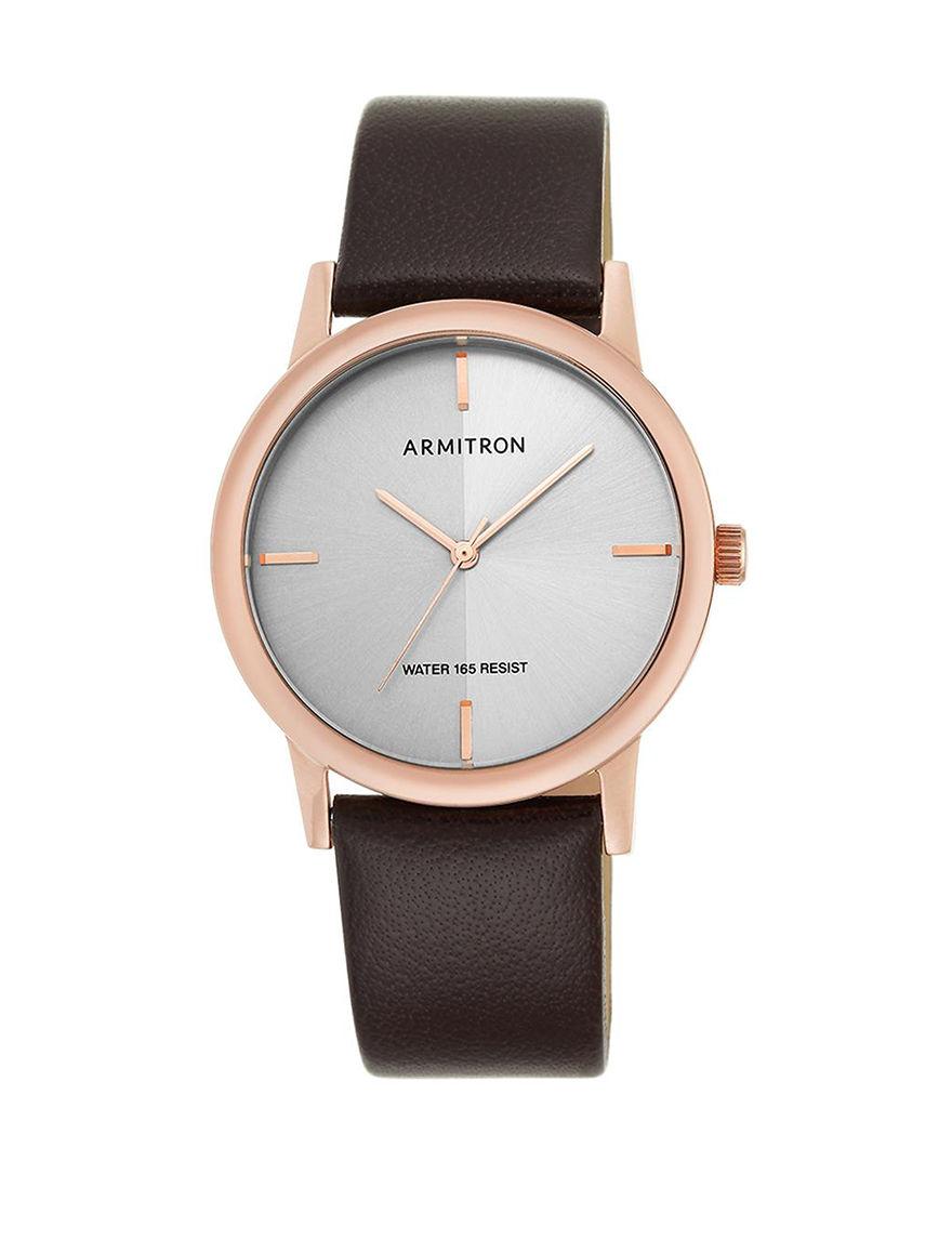 Armitron White / Silver Fashion Watches
