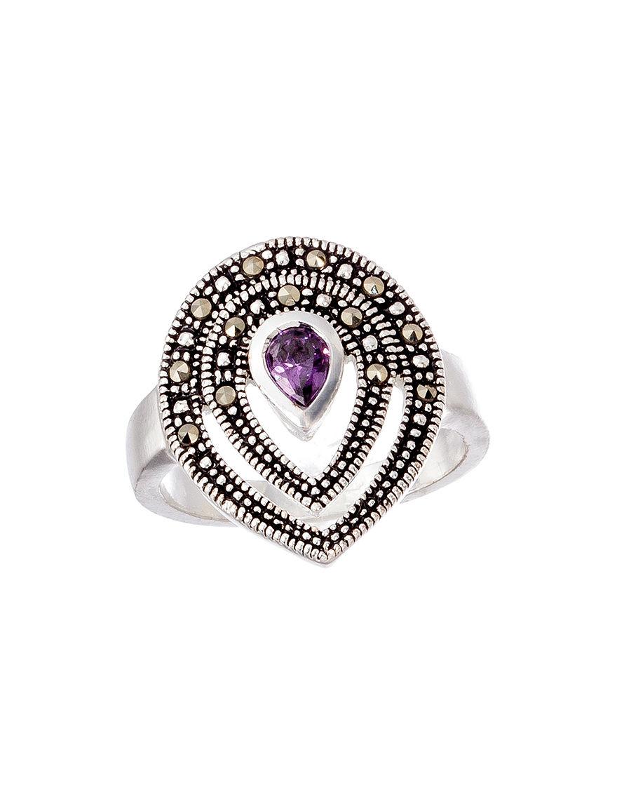 Marsala Purple Rings Fine Jewelry