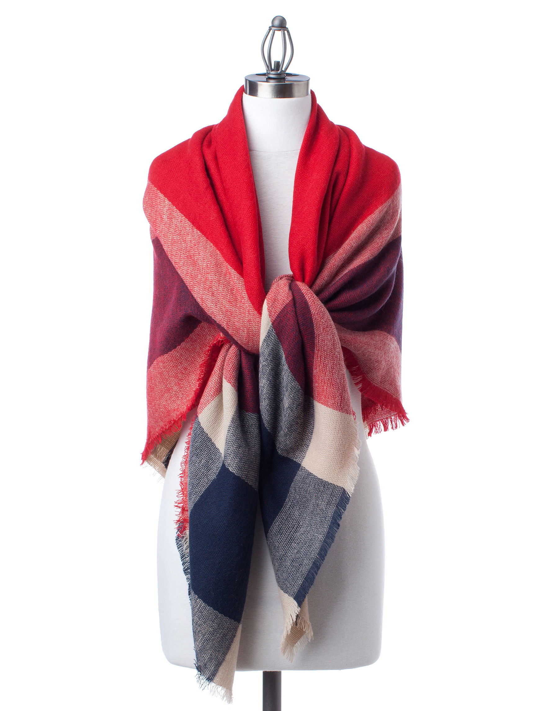 Collection 18 Medium Red Scarves & Wraps