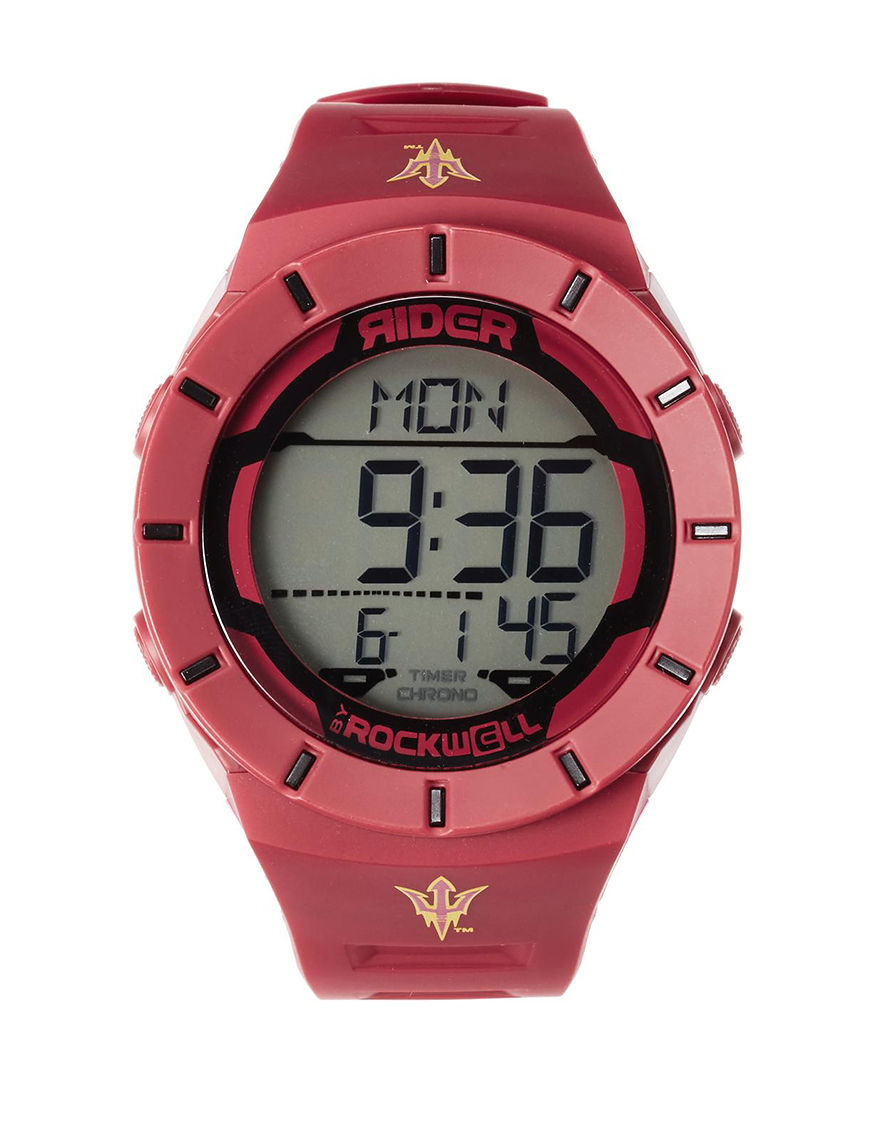 Rockwell Maroon Sport Watches