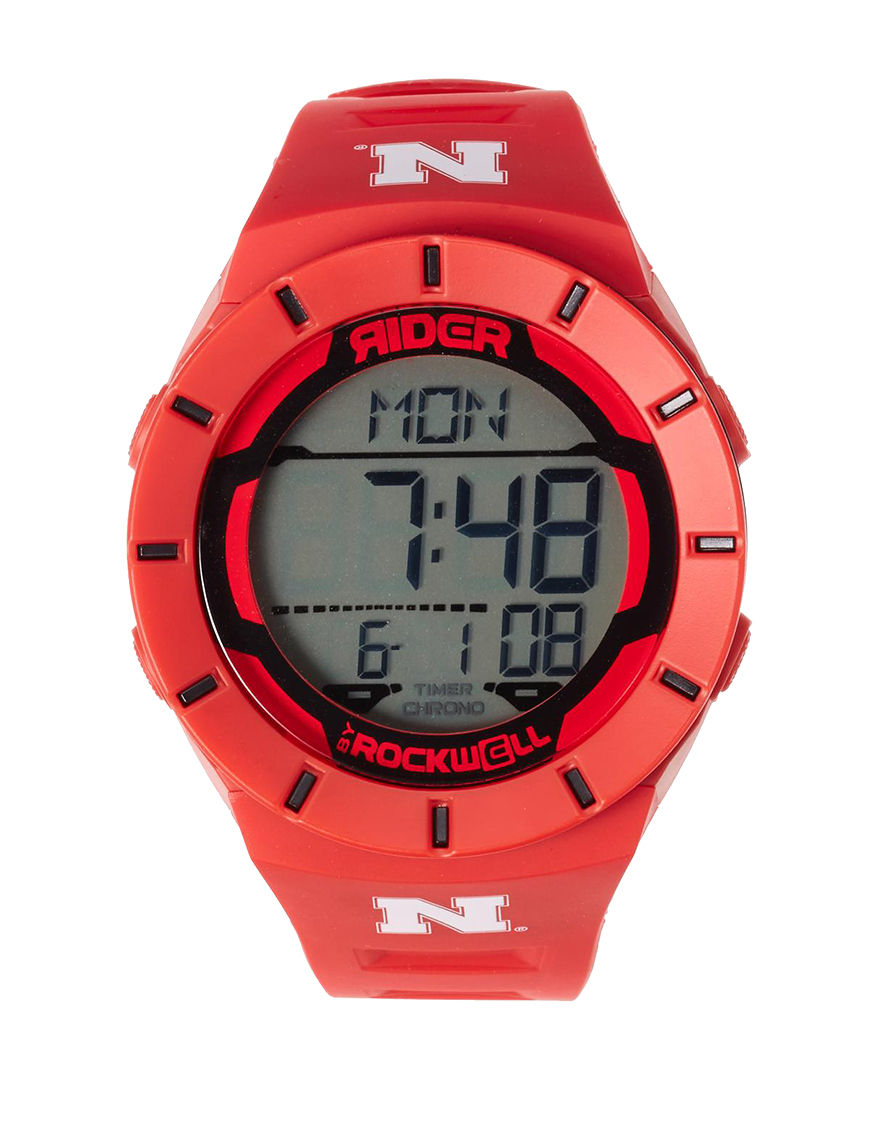 Rockwell Red Fashion Watches Accessories