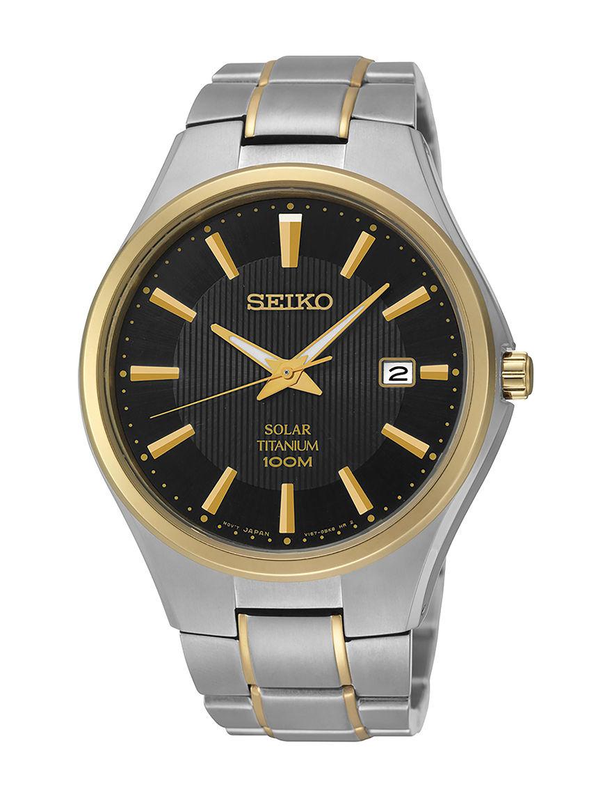 Seiko Gold Bracelets