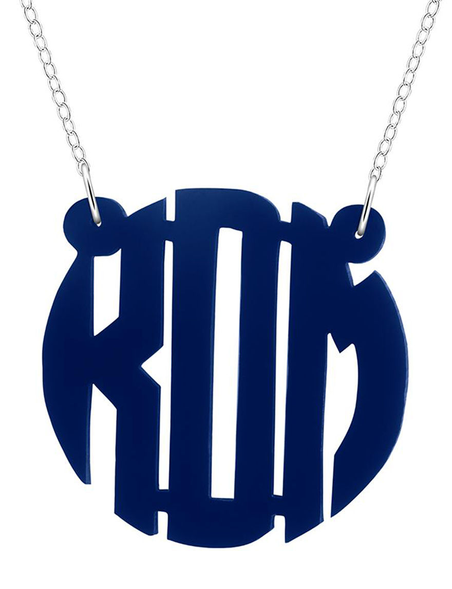 Jay Aimee  Monogram Necklaces & Pendants Fine Jewelry