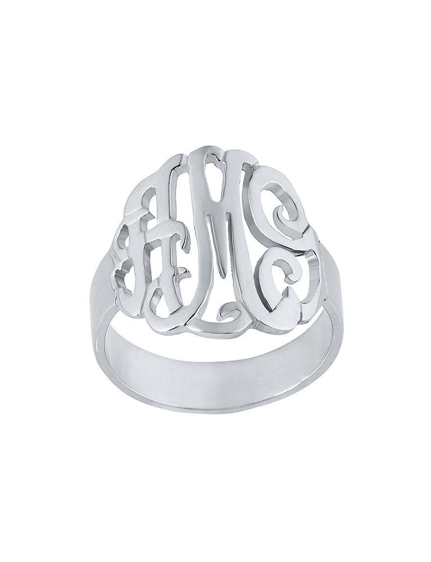 Jay Aimee  Monogram Rings Fine Jewelry
