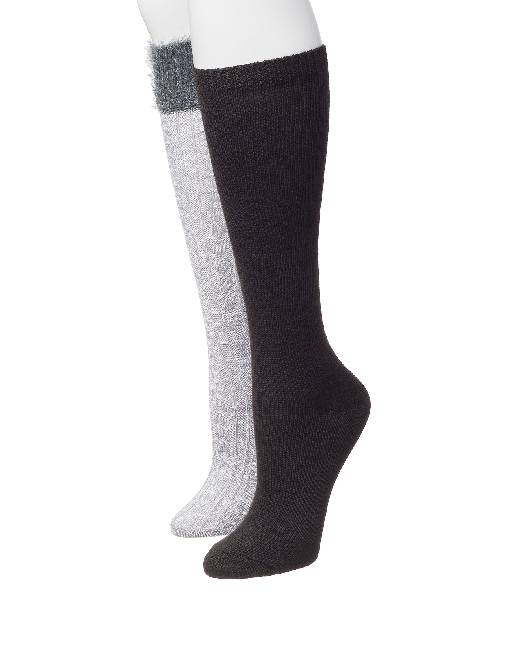 Signature Studio Grey Socks