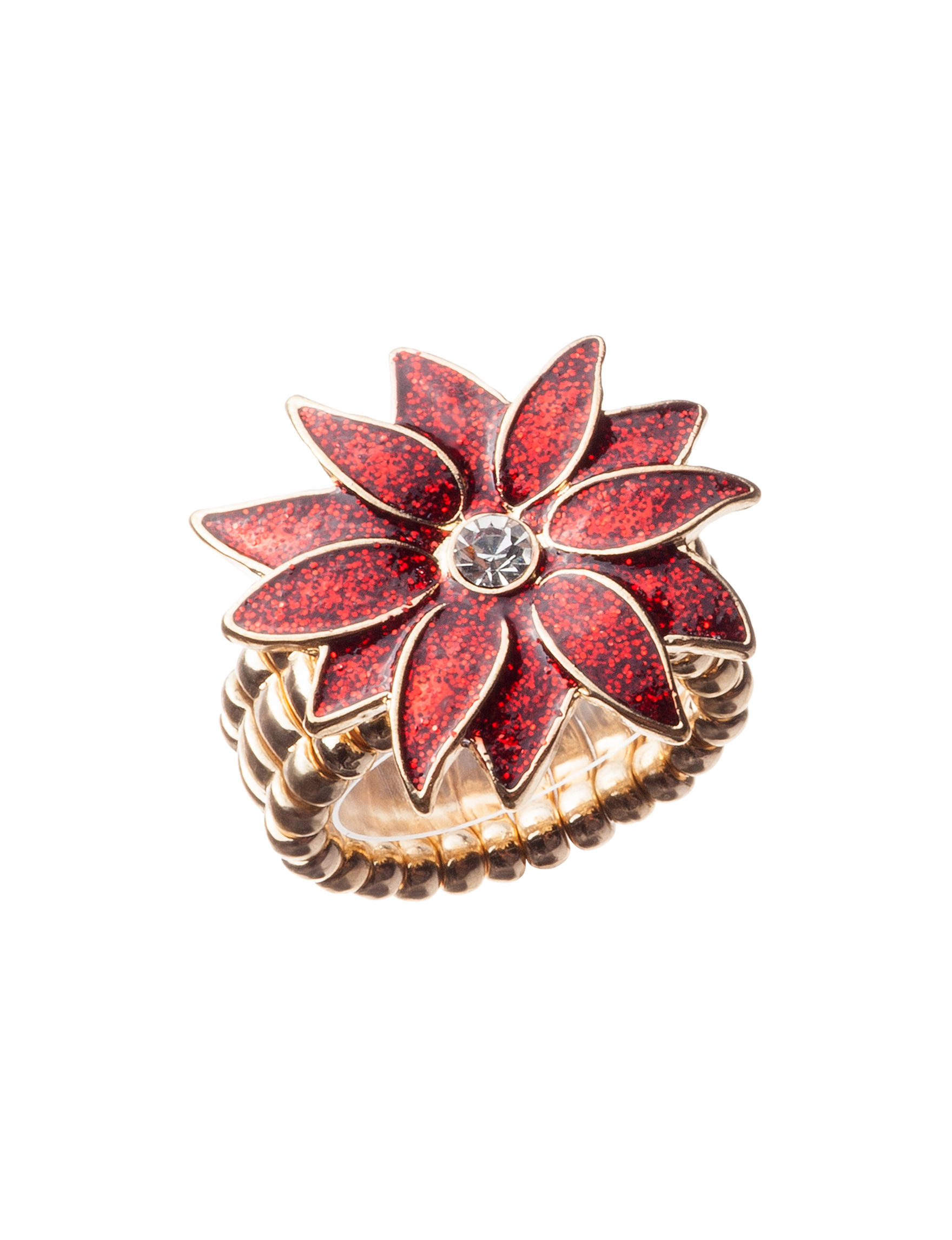 Hannah Red Fashion Jewelry
