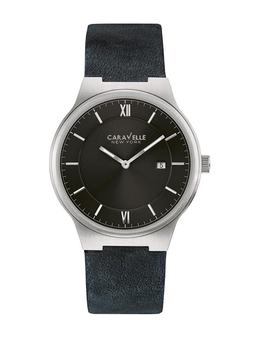 Caravelle Black Bracelets