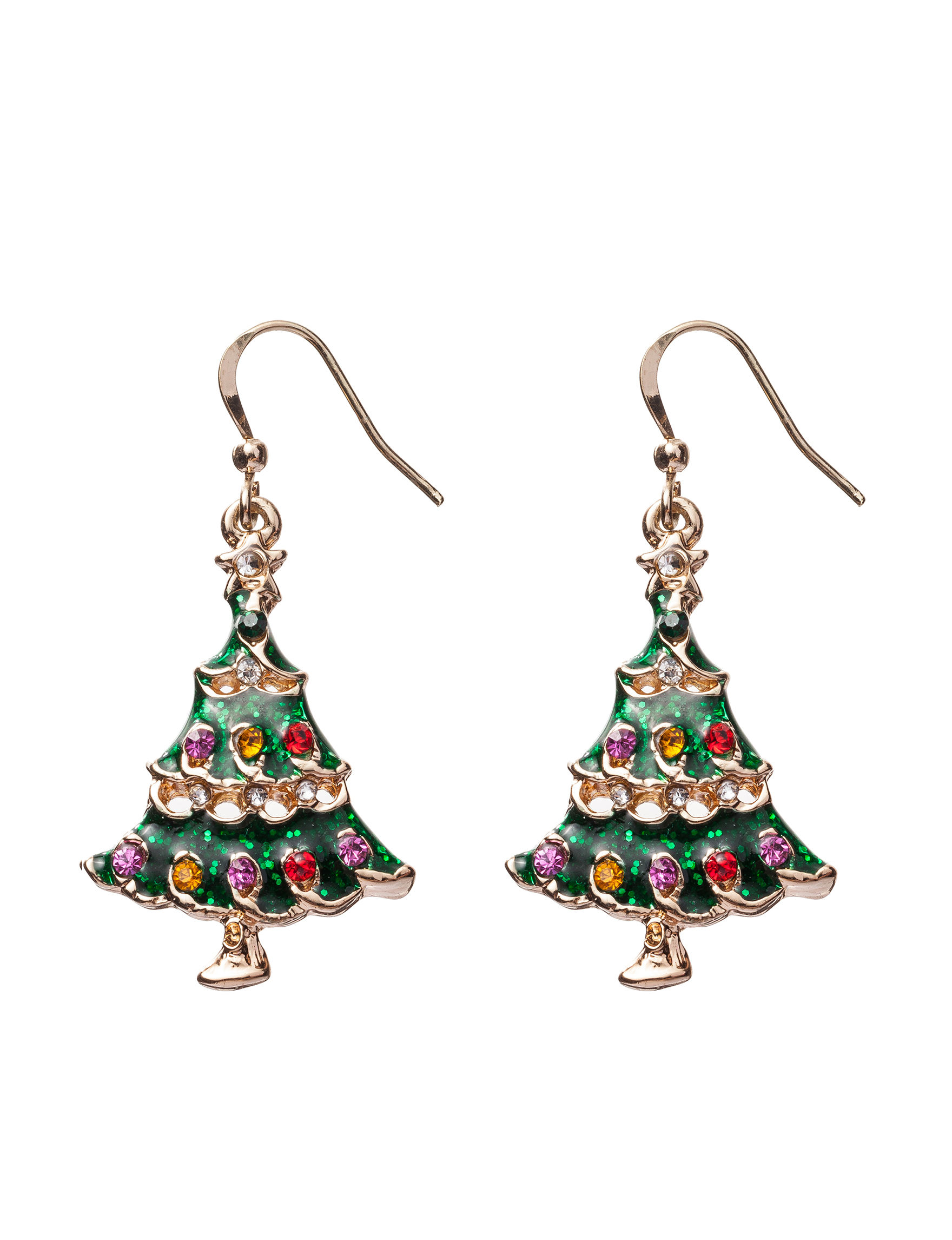 Hannah White / Silver Drops Earrings Fashion Jewelry