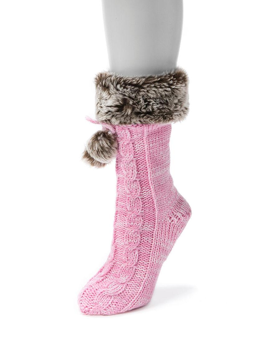 Muk Luks Petal Socks